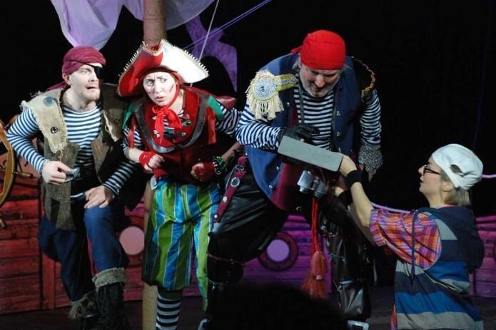 Приключения пиратской бригантины в театре БУФФ