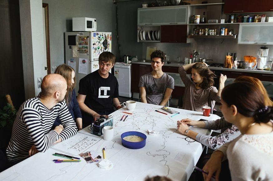 "На фестивале TERRITORIЯ гости: ""В гостях. Европа"" группы «Rimini Protokoll»"