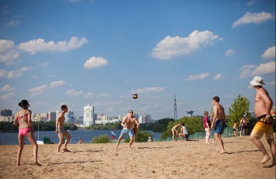 10 лучших пляжей Москвы