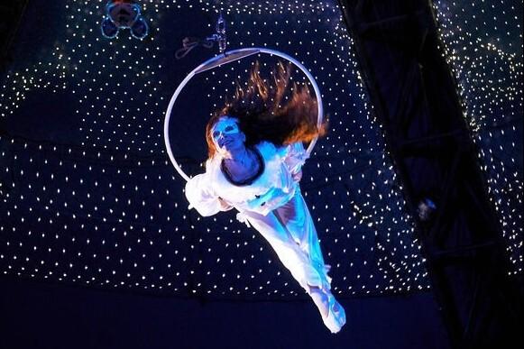Девочка, влюбленная в цирк