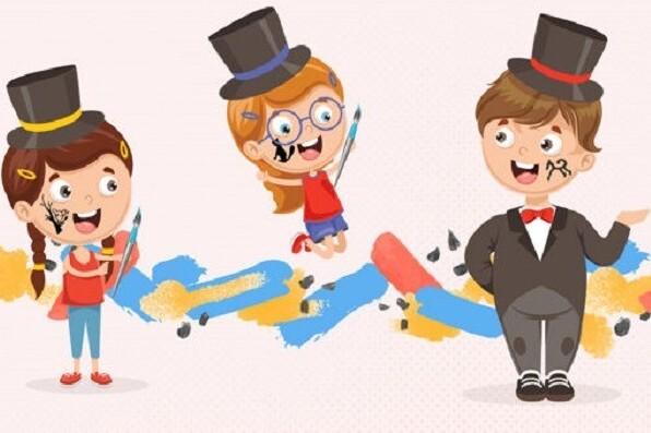 «Бурлюк-плюк-плюк!». Путешествие-эксперимент по выставке для детей 7-11 лет
