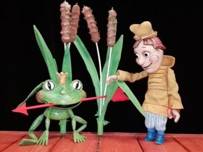 "Кукольный спектакль ""Царевна лягушка"""