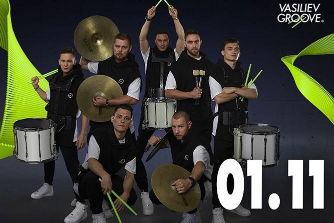 Vasiliev Groove-шоу барабанщиков №1