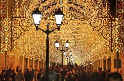 Новогодняя Москва, или путешествие в Рождество (ёлка для взрослых)