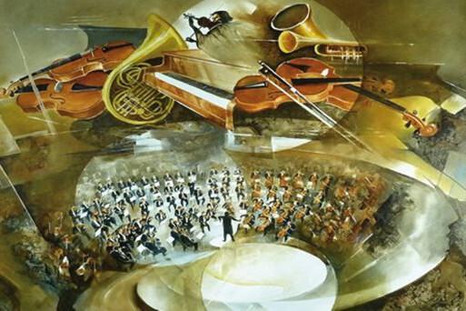 Квартет в ансамбле с оркестром