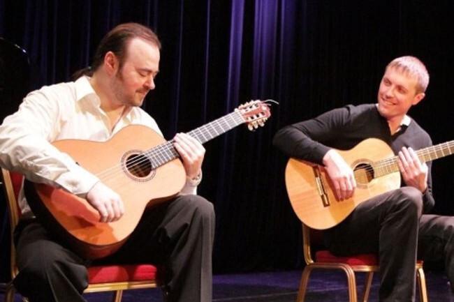 Вечер испанской гитары. Концерт Владимира Колесникова. Вторая гитара — Сергей Бордонос