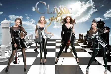 От классики до рока: A. Vivaldi, Deep Purple, Queen, Led Zeppelin, Nirvana». Группа Classic girls