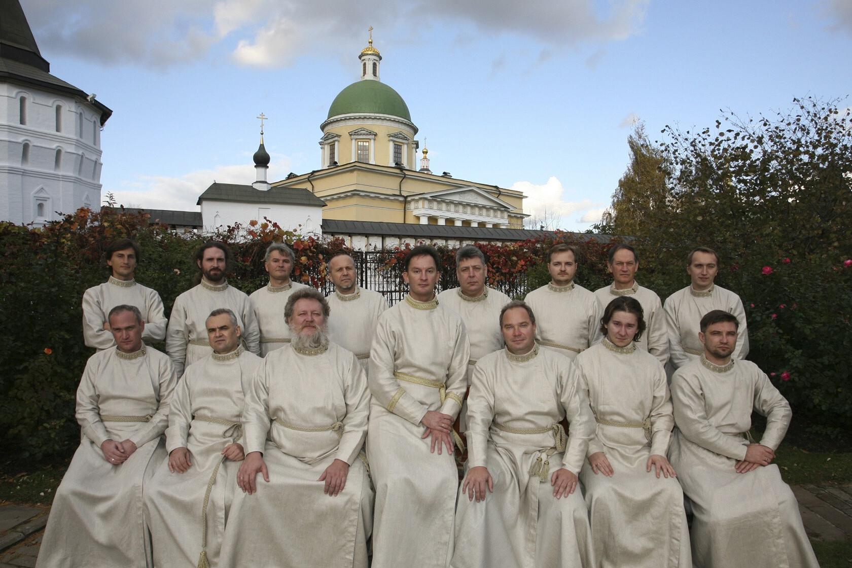 Праздничный мужской хор Московского Данилова монастыря. Регент - Георгий Сафонов