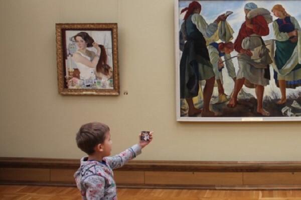 Знакомство с Музеем! Игра «Такси не нужно» для малышей
