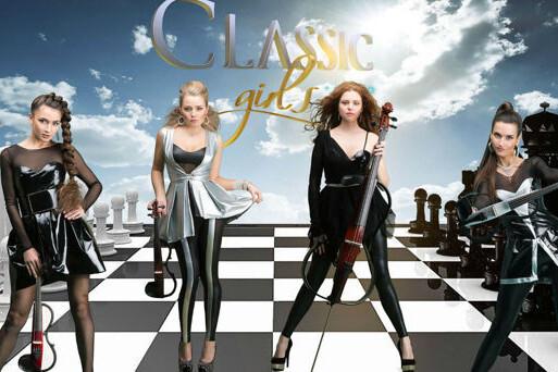 От классики до рока: A. Vivaldi, Deep Purple, Queen, Led Zeppelin, Nirvana. Группа Classic girls