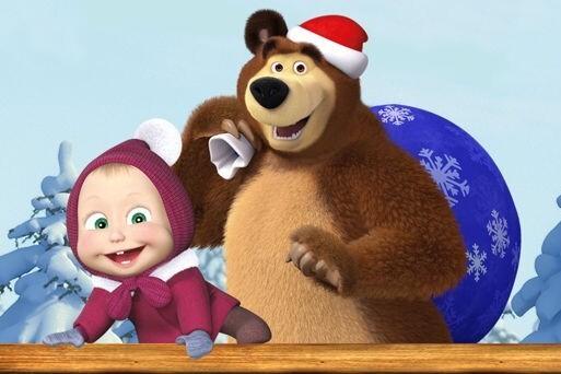 Новогоднее шоу «Маша и Медведь. Очень детективная история. ДА-ДА!»