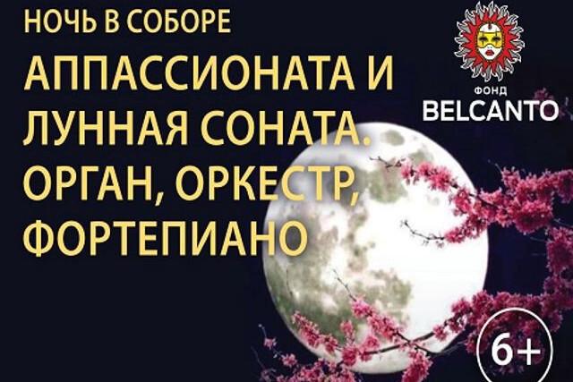 «Аппассионата и Лунная соната». Орган, оркестр, фортепиано