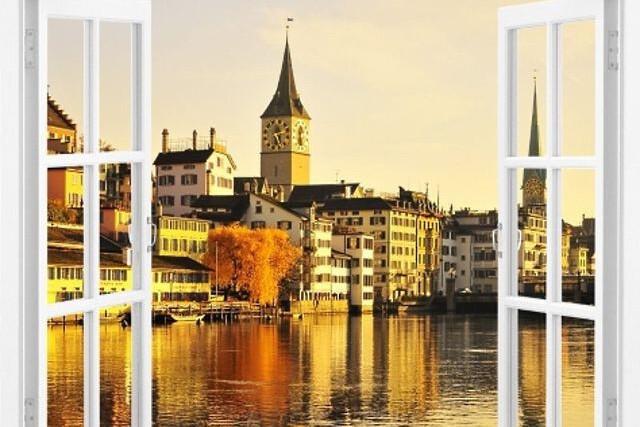 Окно в Швейцарию