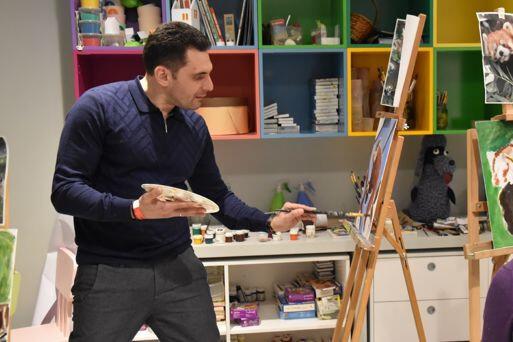 Мастер-класс для взрослых «В мастерской импрессиониста. Пишем акрилом!»