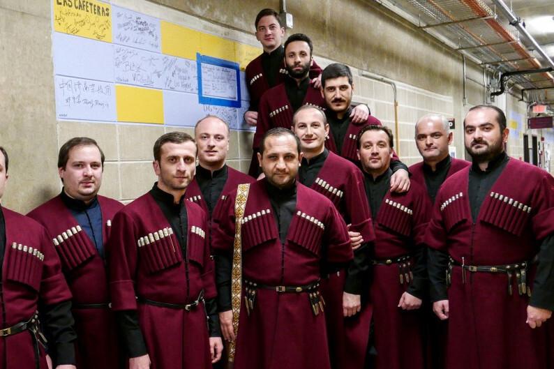 Патриарший хор Грузии «Басиани»