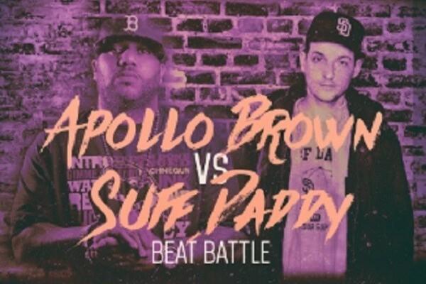 Apollo Brown VS Suff Daddy
