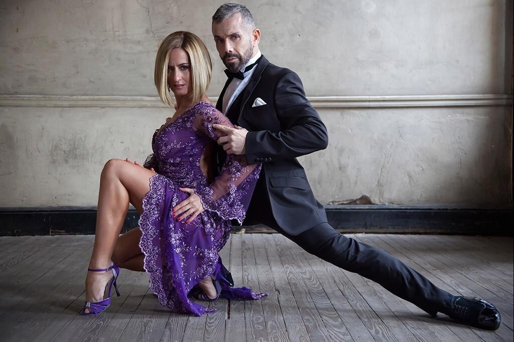 К международному Дню танго Звезды аргентинского танго Хулия Урути и Клаудио Гонсалес, Solo Tango Orquesta