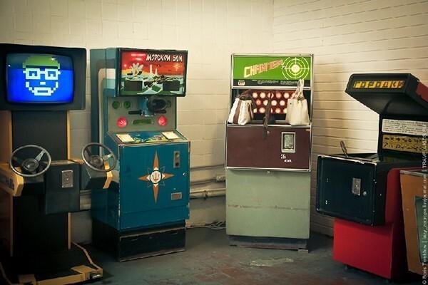 Посещение Музея советских игровых автоматов