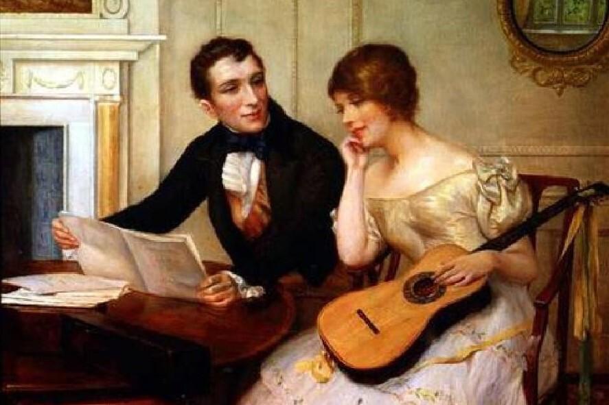 """Клуб романса """"Две гитары"""" Молодые голоса в романсе."""