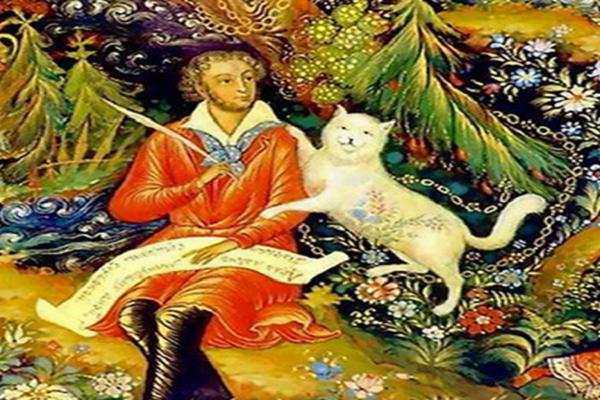 Сказка с песочной анимацией «Сказки Пушкина. Лукоморье»