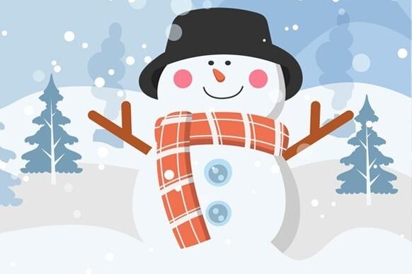 Новогоднее представление «Снеговик»