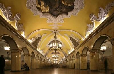 Пешеходная экскурсия City Sightseeing Moscow «Подземные дворцы»