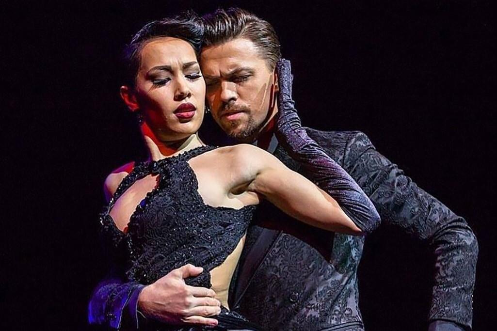 """Гала - шоу """"Tango de Invierno"""". Solo Tango Orquesta.Чемпионы Мира 2018 Дмитрий Васин и Сагдиана Хамзина"""