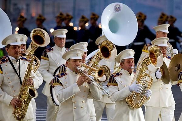 «Ритмы времени». Президентский оркестр Российской Федерации. Ведущая — Е. Зайцева