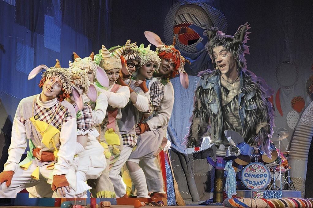 Музыкальное шоу «Волк и семеро козлят». Театр Алексея Рыбникова