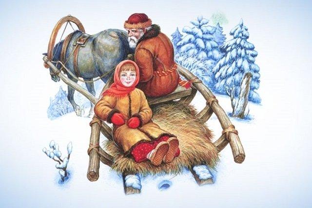 Как Морозко подарки дарил