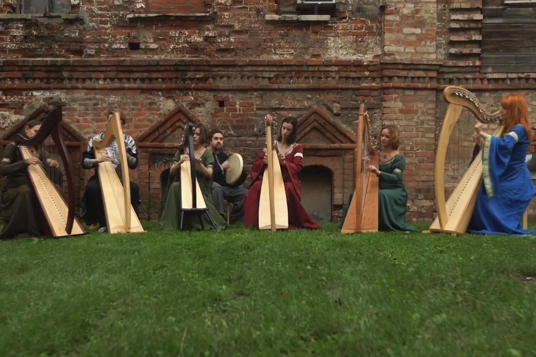 «World music в Кафедральном». «Орган, кельтская арфа и колёсная лира»