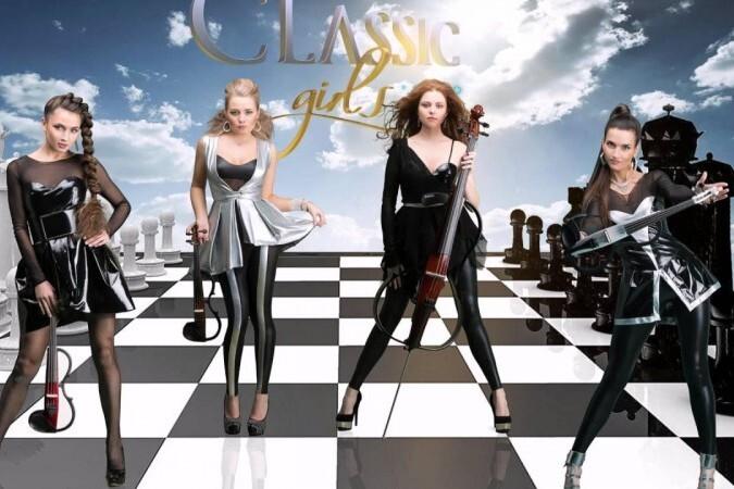 A. Vivaldi, Deep Purple, Queen, Led Zeppelin в проектах «Leonarda»- Золотая скрипка России, «Опера XXI»