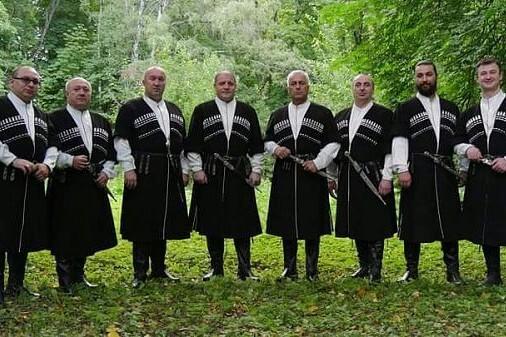 «World music в Кафедральном». Тбилисо. Грузинское многоголосие, орган и дудук