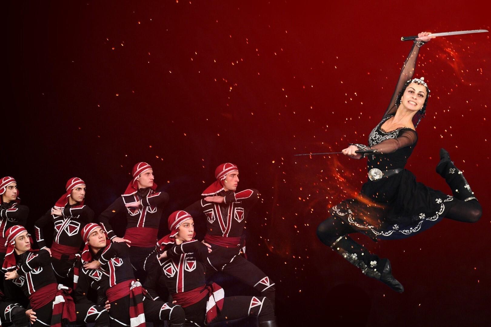 Королевский национальный балет Грузии. Шоу «Огонь Грузии»