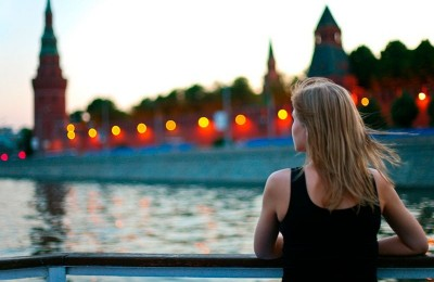 Волшебный вечер на Москве-реке