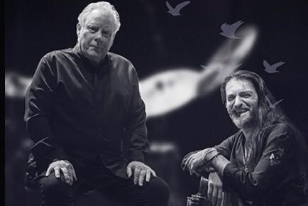 Эстас Тонне и Майкл Шрив в рамках международного тура 2019 «Интеграция».