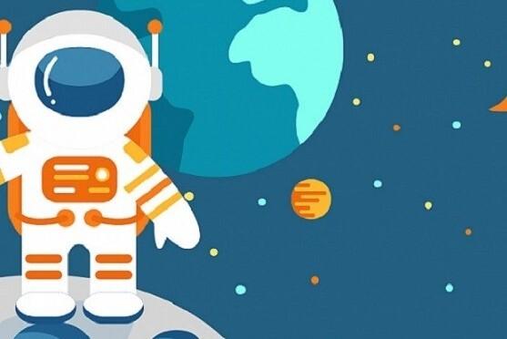 Три космонавта