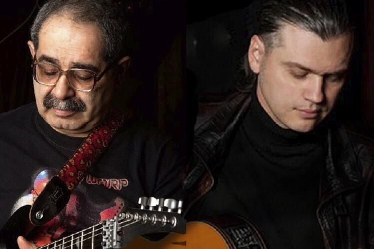 Guitar day. 1+1. Мукуч Суджян и Антон Горбунов