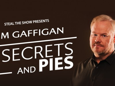 Jim Gaffigan World tour Standup special: Secrets and Pies