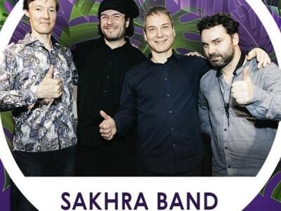 Город Джаз. Sakhra band. Концерт в оранжерее
