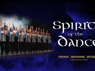 """Танцевальное ирландское шоу """"Spirit of the Dance"""""""