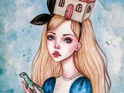 Алиса в Стране чудес. Сказка в оранжерее