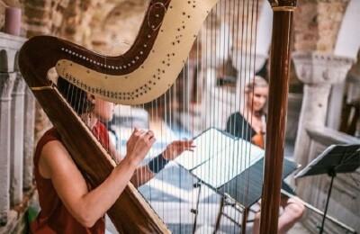 Романтический вечер с арфой, органом и саксофоном. Российские самоцветы