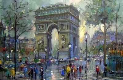 Импрессионисты. Романтический вечер в Париже