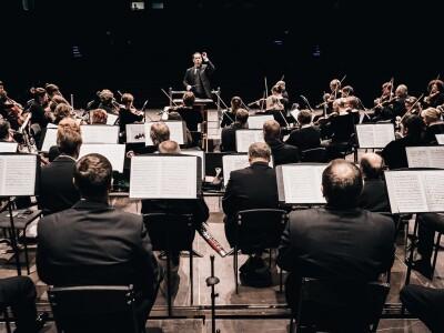 Красноярский академический симфонический оркестр, Д. Маслеев, дирижер В. Ланде