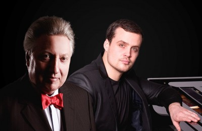 «Два рояля». Лесли Ховард и Людовико Тронканетти