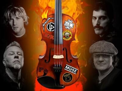 Rock String show. Рок-хиты всех времен