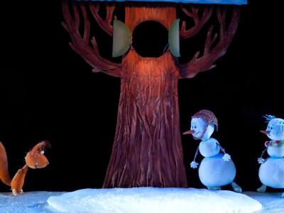 """Новогодняя сказка """"Солнышко и снежные человечки"""""""