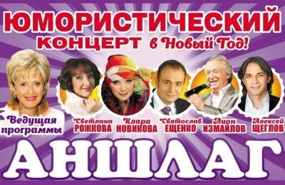 Юмористический концерт в Новый год!