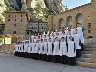 Хор мальчиков монастыря Монсеррат. Испания